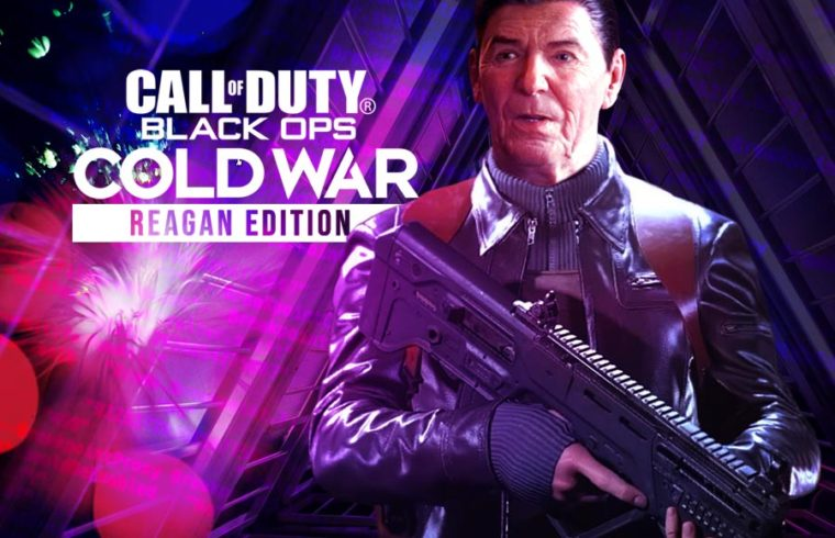 New Cod Black Ops Cold War Reagan Edition Available For Pre Order 1st Issue